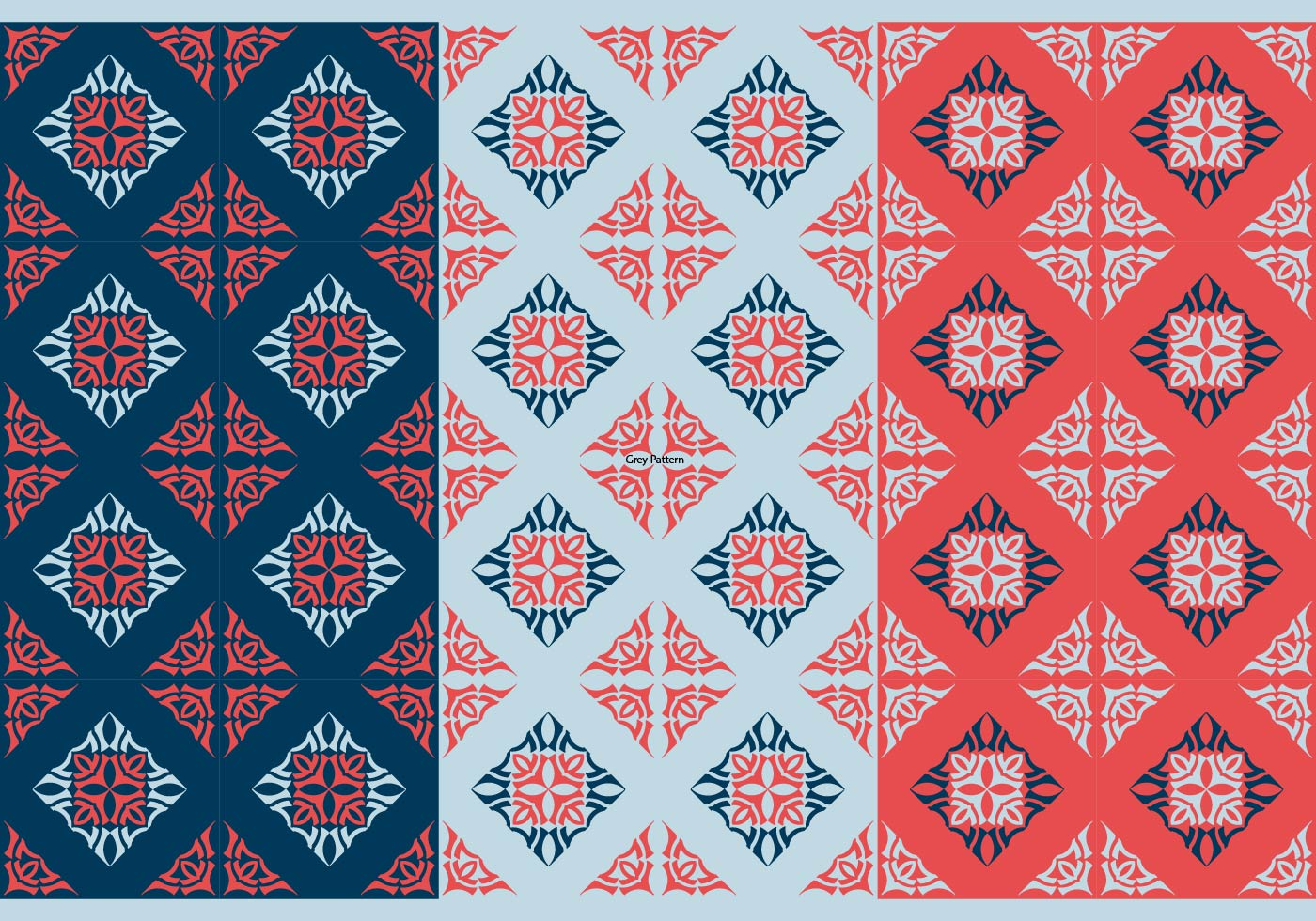 Free Thai Seamless Vector Patterns, Vol. I