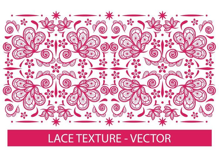 Textura de Encaje vector