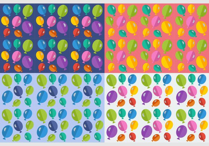 Free Seamless Patterns Ballons