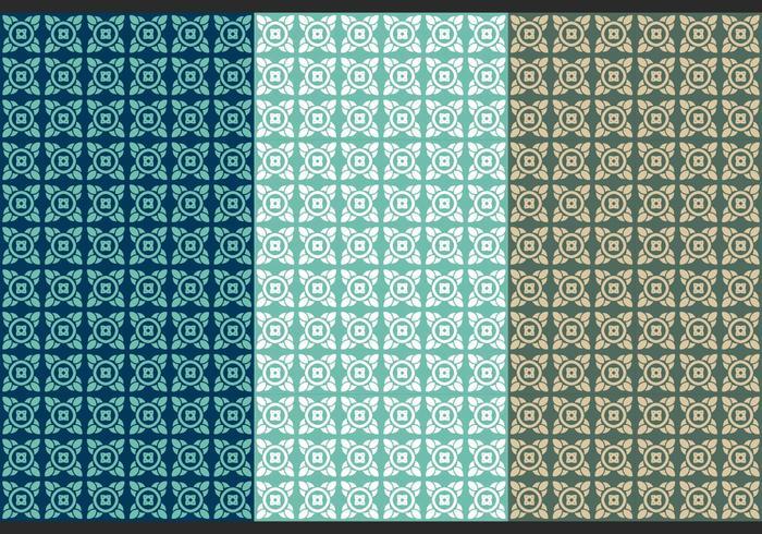 Free Thai Seamless Vector Patterns, Vol. IV