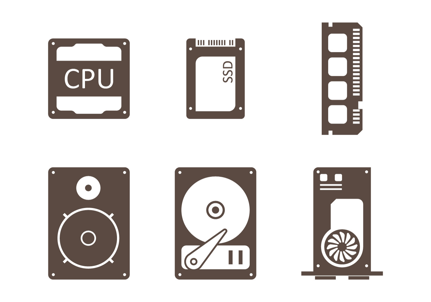 Motherboard Free Vector Art 7712 Downloads Simple Circuit Diagram Symbols Seamless