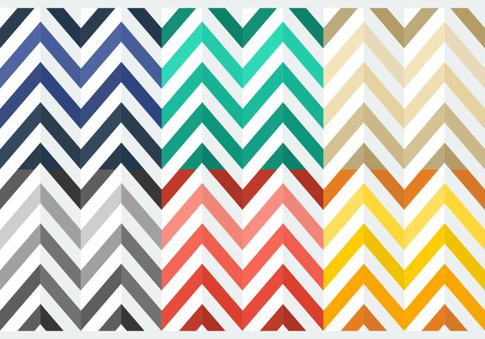 Gratis Färgglada Flat Herringbone Patterns