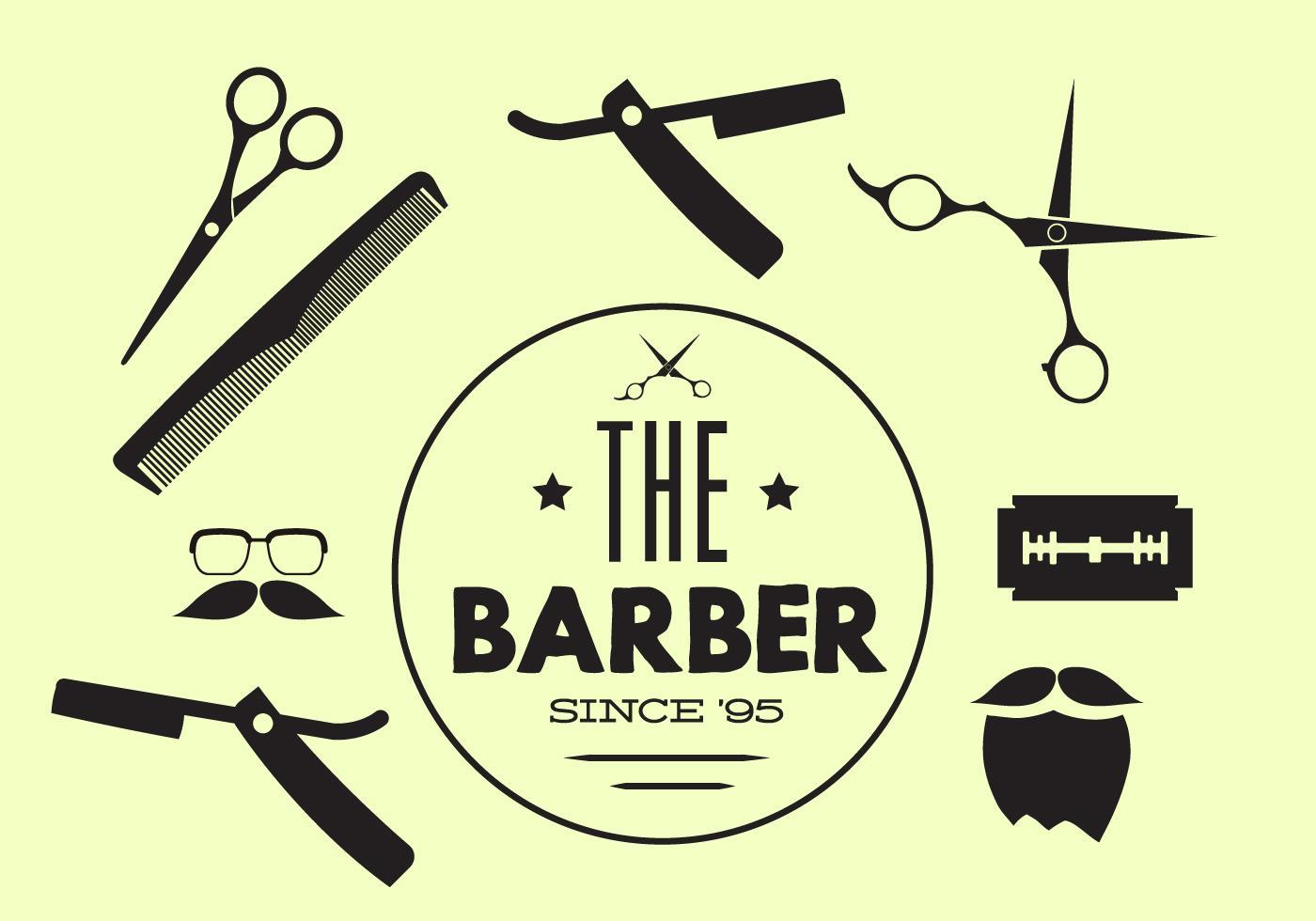 barber logo download - HD1400×980