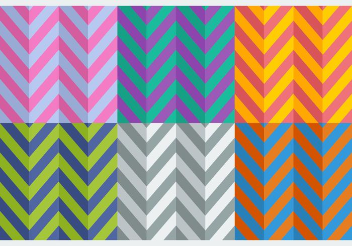 Gratis Flat Style Herringbone Patterns
