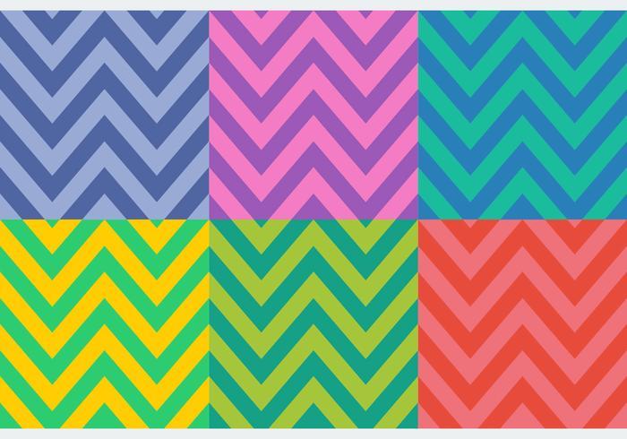 Patrones de espiga de colores