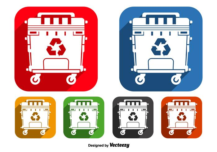 Dumpster icons
