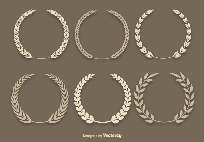 Wheat Laurel Vectors
