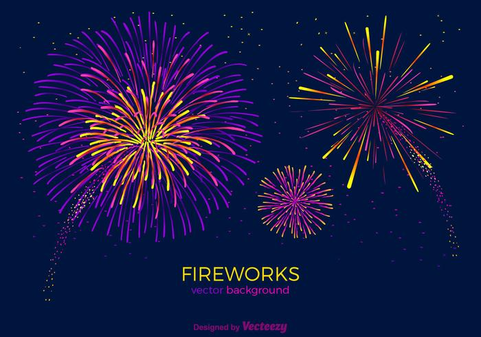 fireworks vector background download free vector art stock