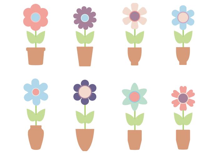 Freier Blumen-Vektor