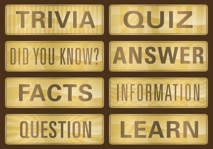 Golden Trivia Titles