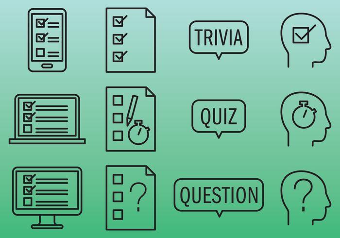 Quiz-Icons