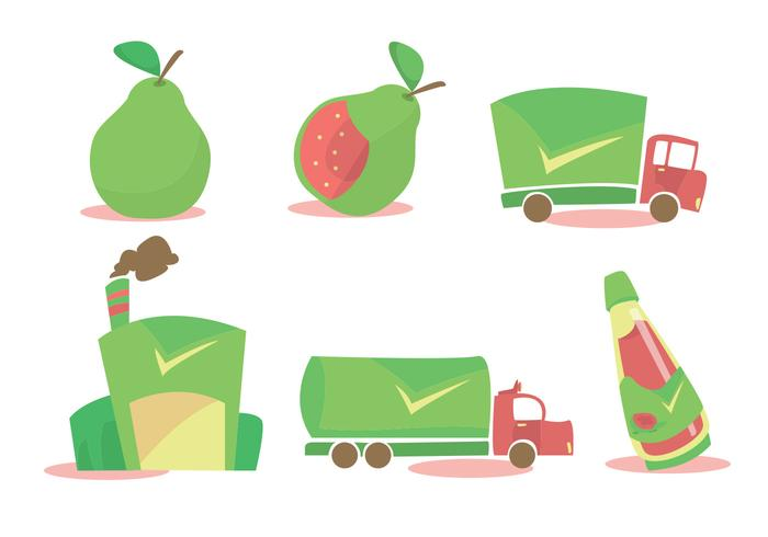 Guava Processing Vector Set
