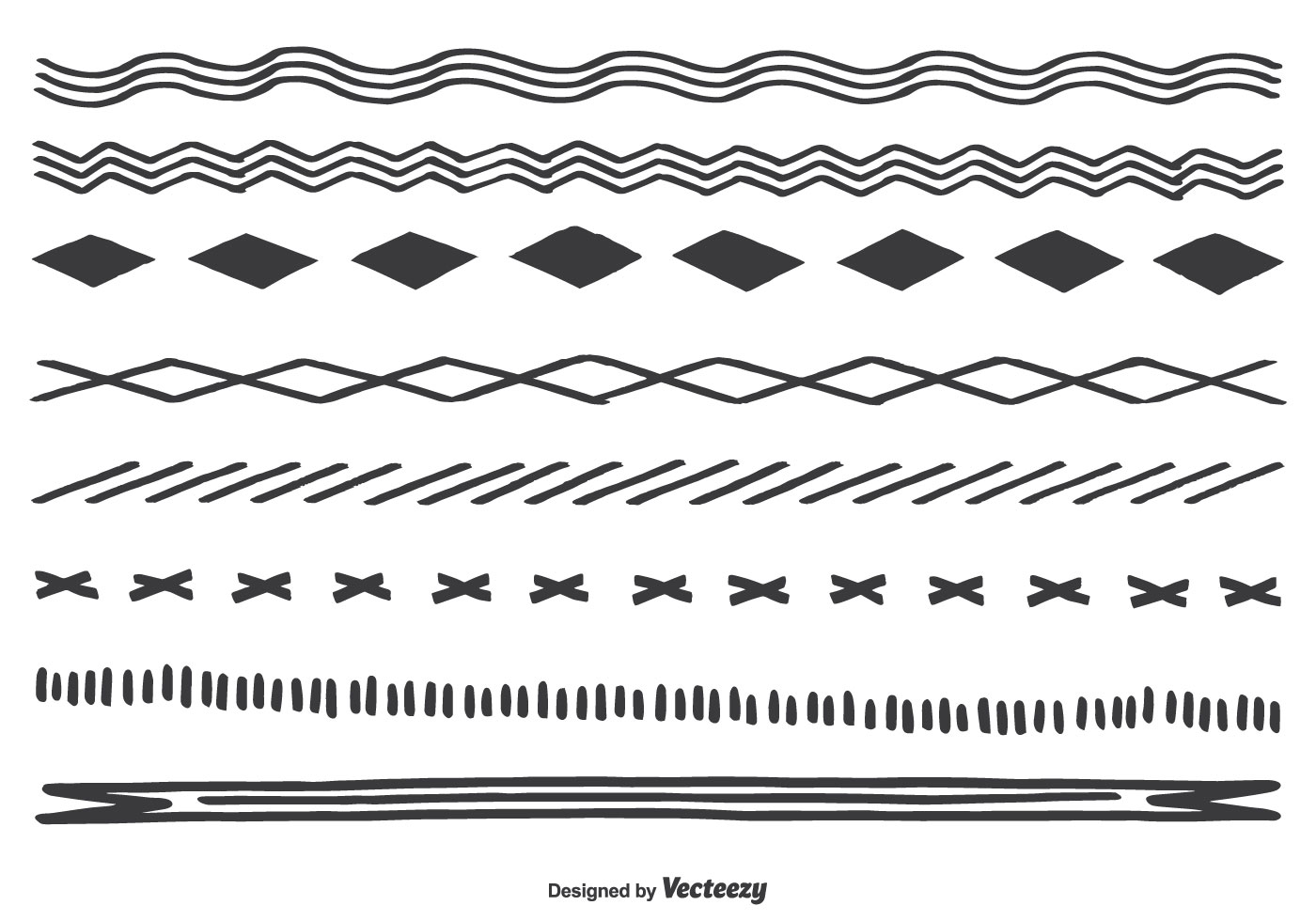 Cute Hand Drawn Borders - Download Free Vector Art, Stock ...