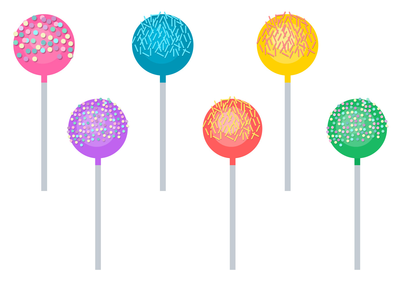 cake pop drawing