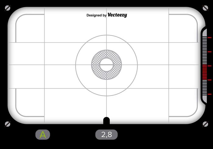 Viewfinder design with white background