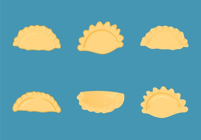 Free Empanadas Vector Illustrations