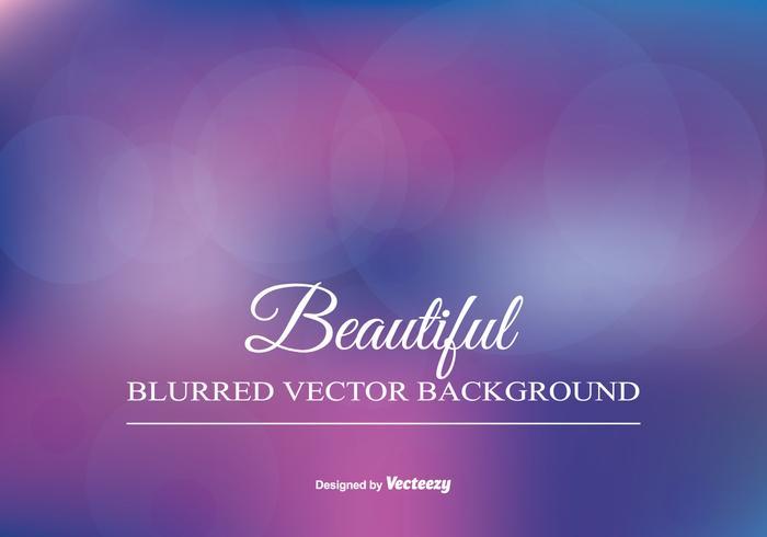 Beautiful Blurred Background Illustration