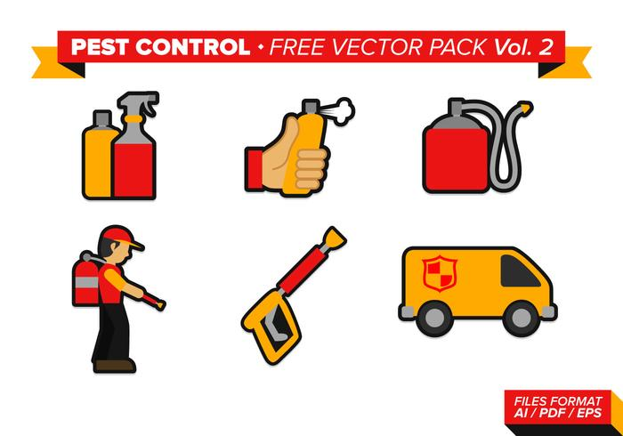 Pest Control Free Vector Pack Vol. 2