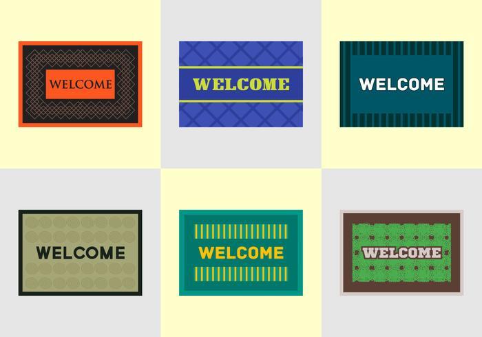 Free Welcome Mat Vectors