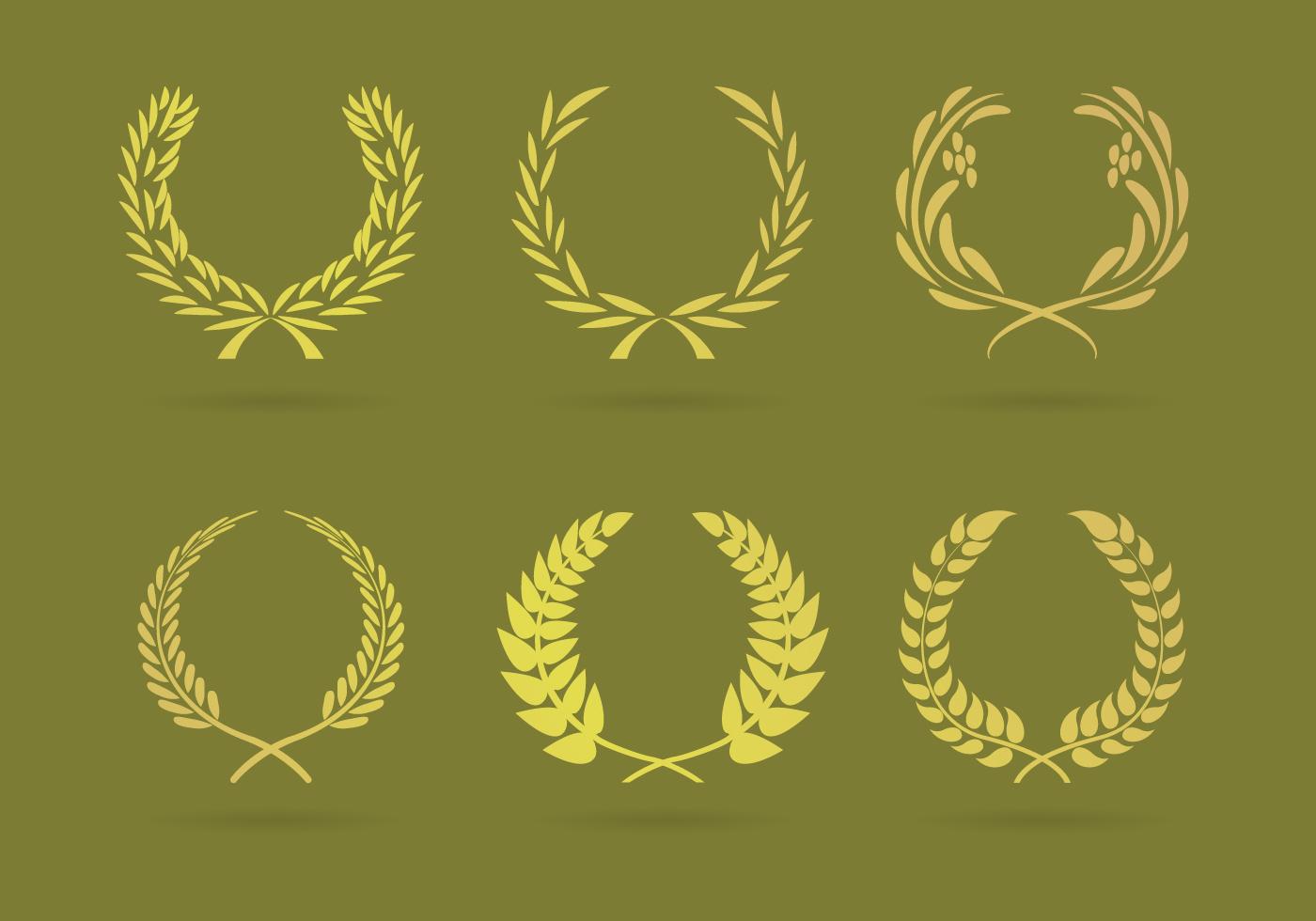 wreaths illustrations vector download free vector art