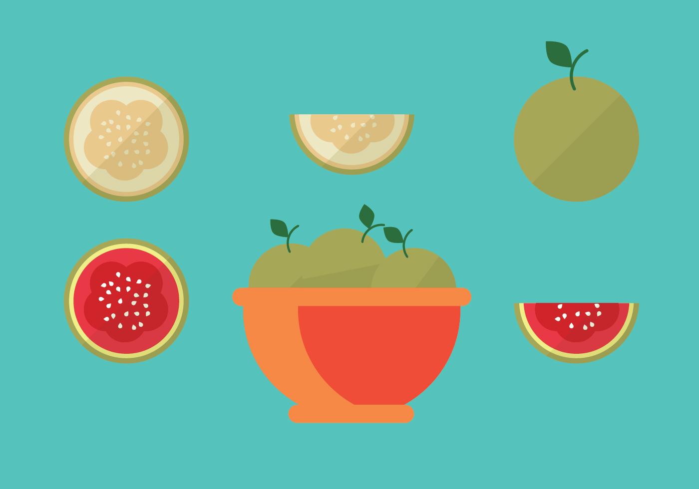 Guava Vector Pack - Download Free Vector Art, Stock ... | 1400 x 980 jpeg 205kB