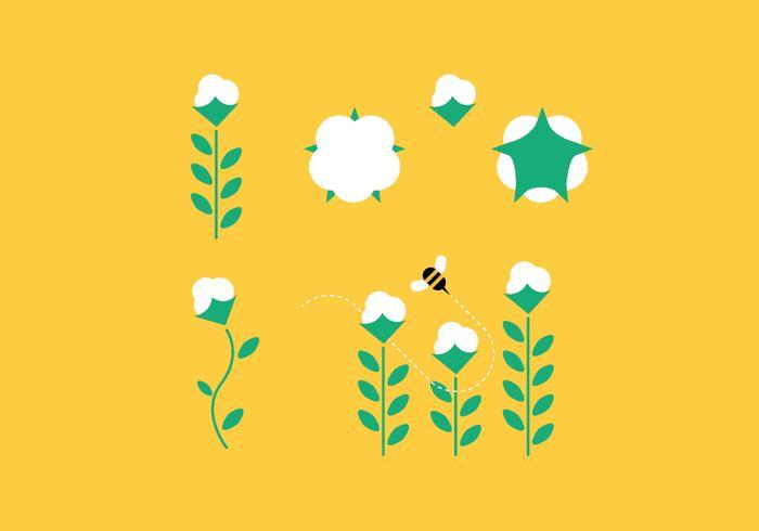 Cotton Plant Set