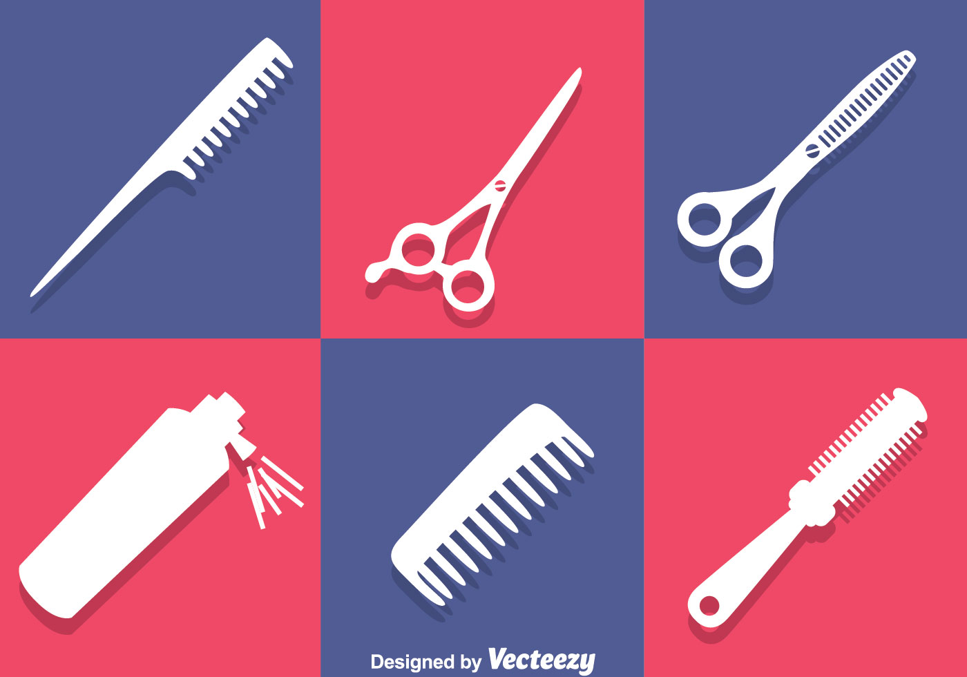 barber tools white icons download free vector art stock
