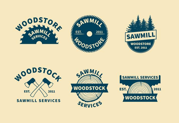 Sawmill Logo Vectors - Download Free Vector Art, Stock Graphics ...