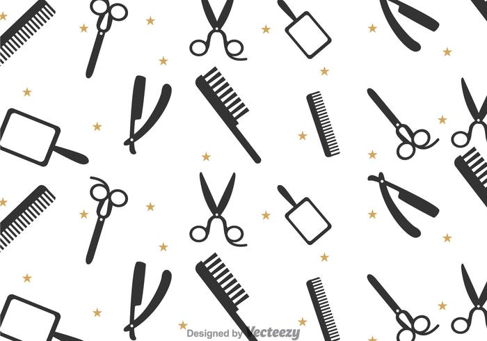 Barber Tools Pattern
