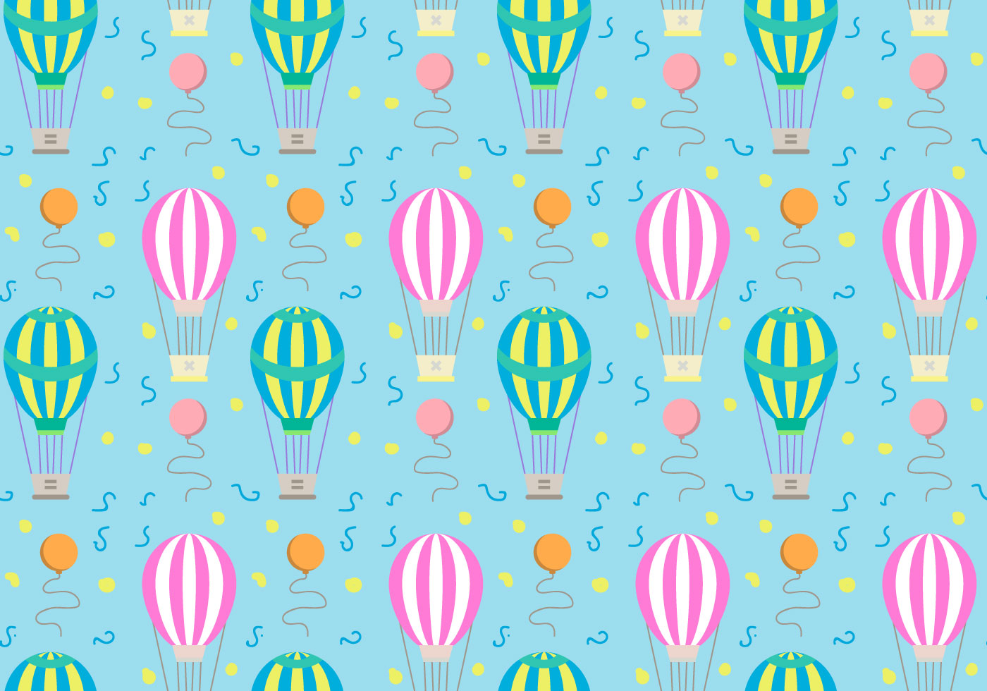 hot air balloons pattern vector download free vector art breast cancer clip art small breast cancer clip art symbol