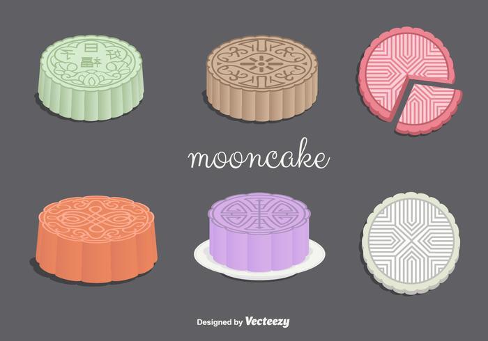 Vecteurs Mooncake
