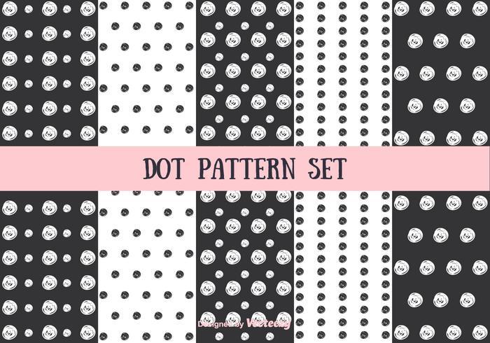 Dot Pattern Vector Set
