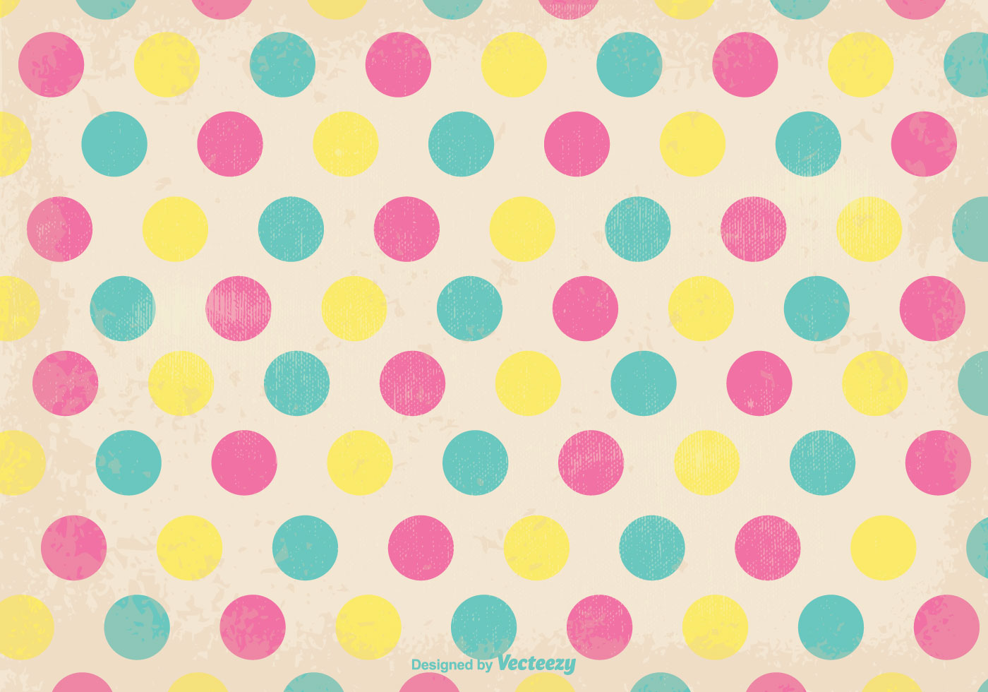 old retro polka dot style background download free