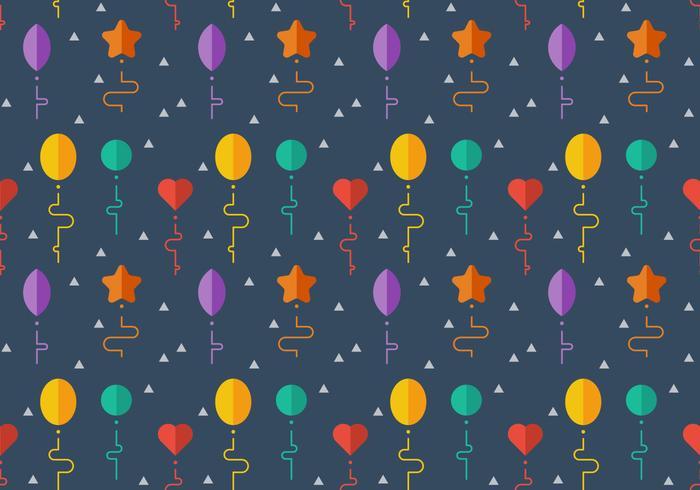 Free Balloons Pattern #7