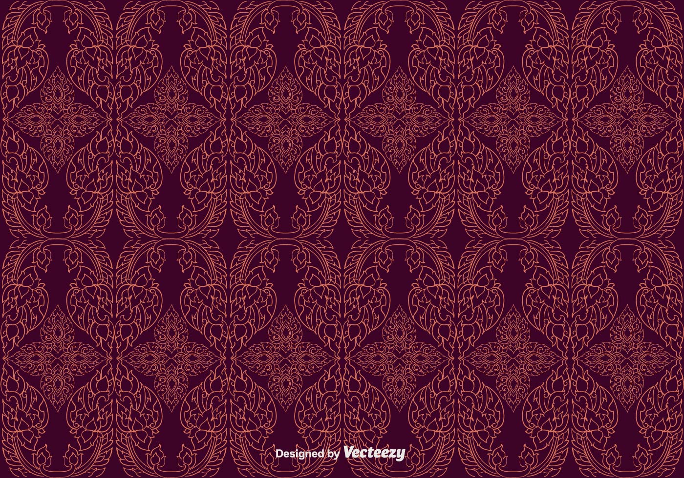 free maroon thai pattern vector download free vector art filigree vector art filigree vector free