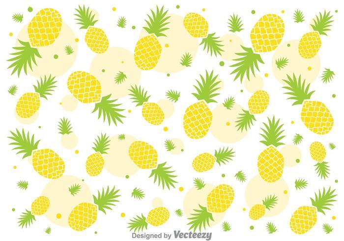 Pineapple pattern background - photo#18