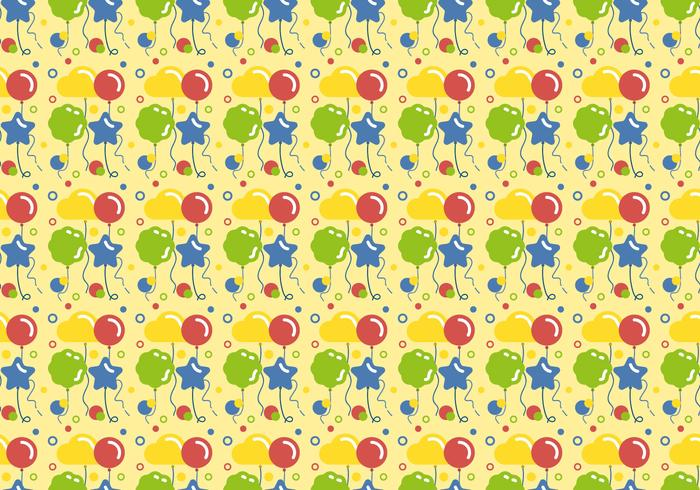 Vector Balloons Pattern