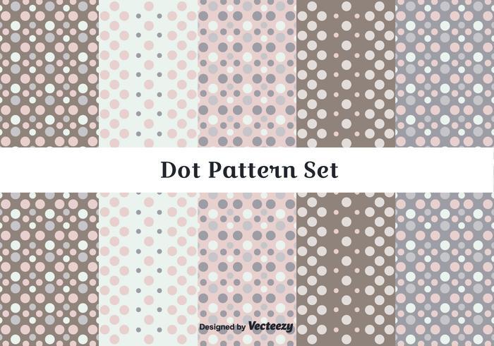 Subtle Dot Pattern Vector Set