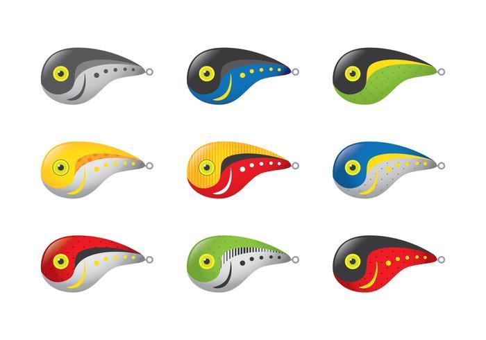 Rapala crawdad fishing lure vectors