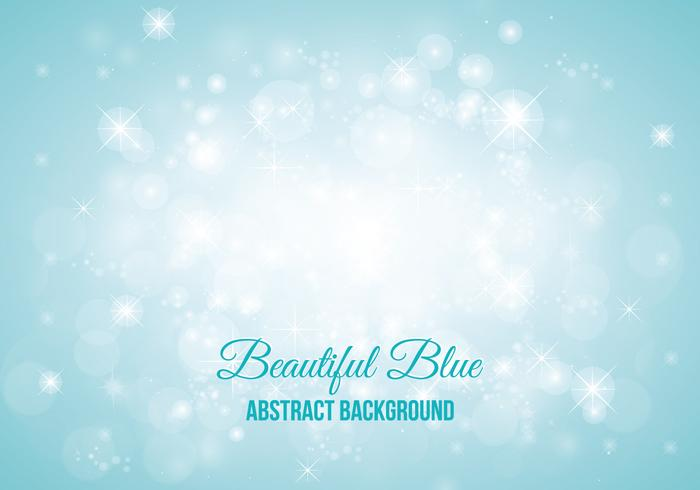 Blue Sparkle Abstract Style Background