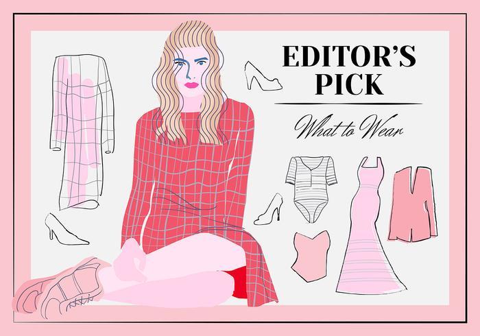 Free Women Wear Vector Elements