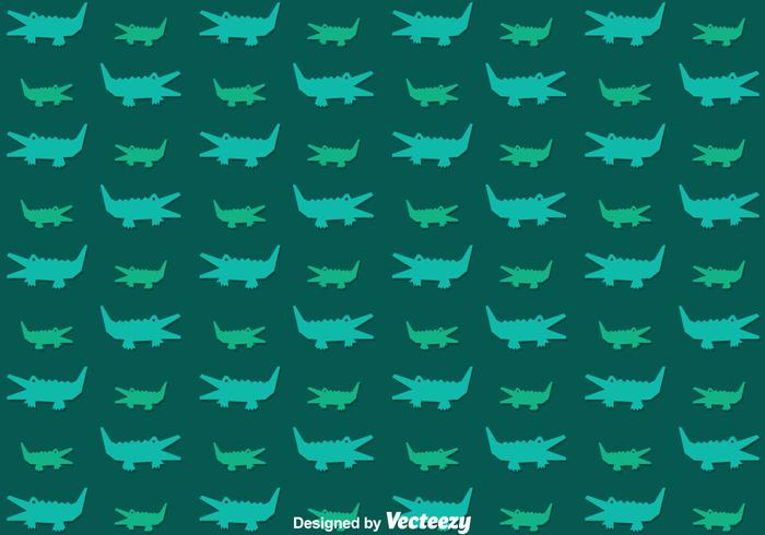 Alligator Pattern Vector