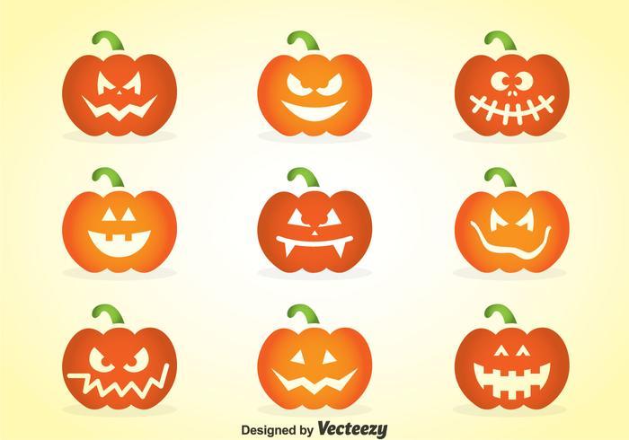 Face Of Pumpkins