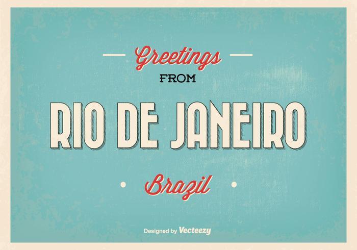 Retro rio de janeiro greeting illustration download free vector retro rio de janeiro greeting illustration m4hsunfo