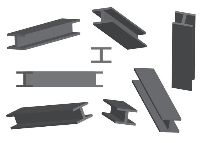 Free Steel Beam Vector