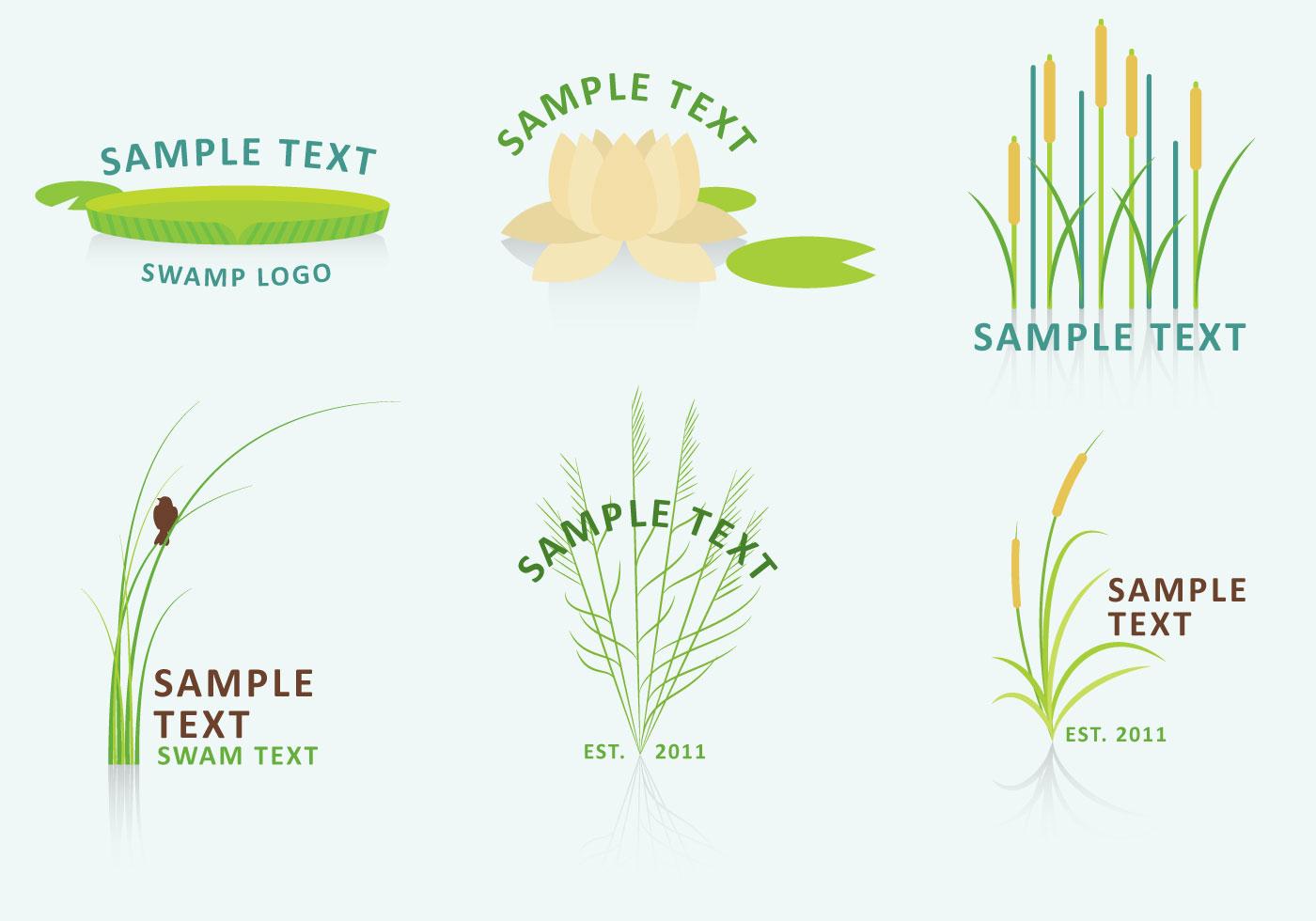 Nature And Swamp Logo Vectors Download Free Vector Art