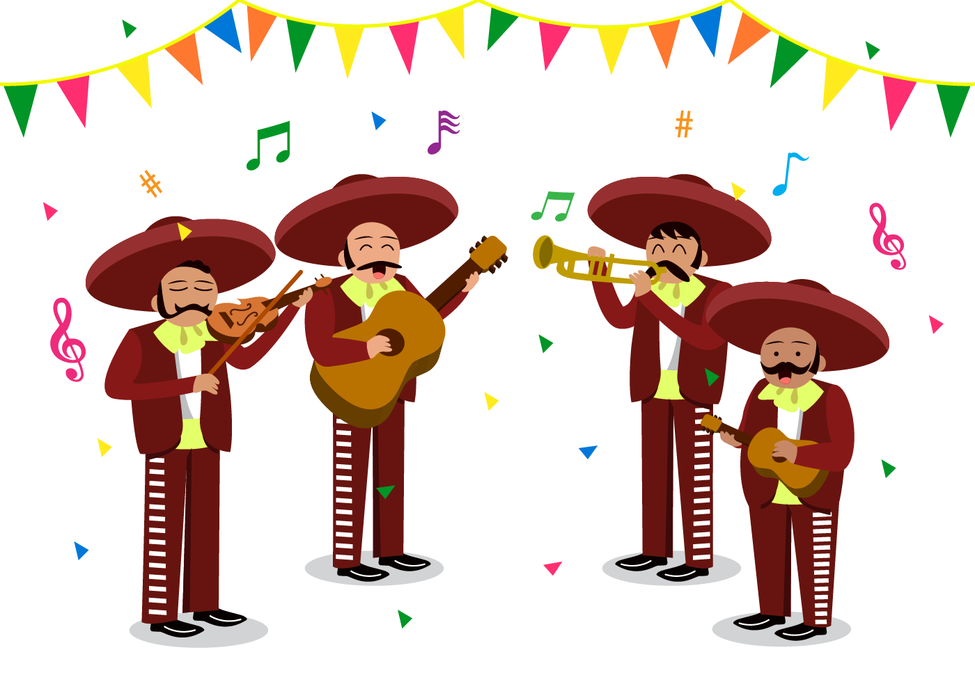 Free Mariachi Vector - Download Free Vector Art, Stock Graphics ...