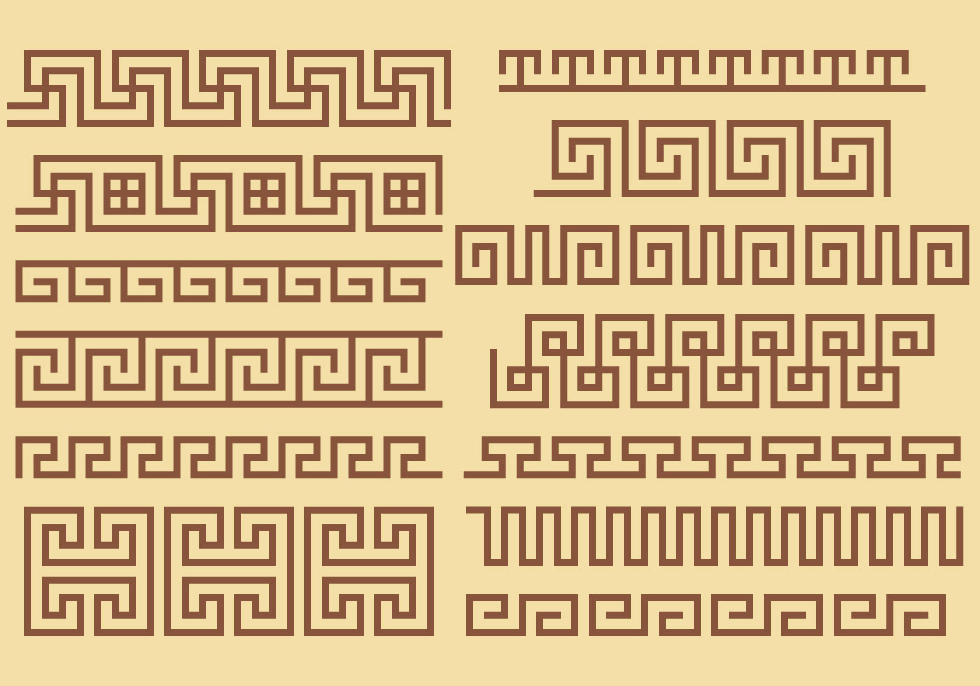 Greek Key Border Vectors - Download Free Vector Art, Stock ... Classical Music Background Designs