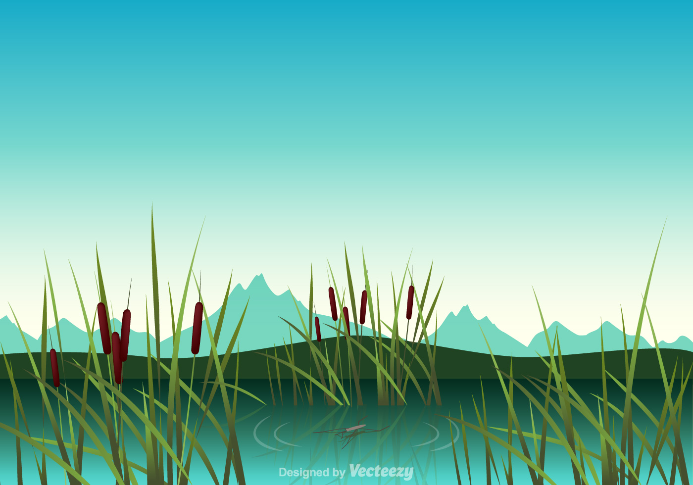 Free Swamp Vector Illustration - Download Free Vector Art, Stock ...
