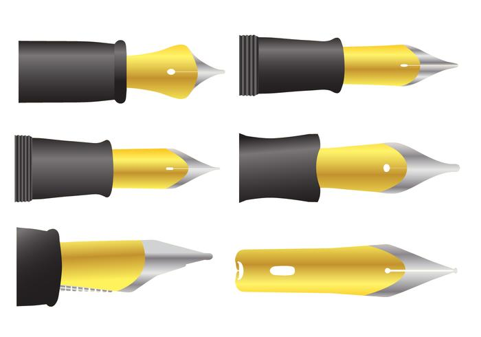 Pen Nib Vectors